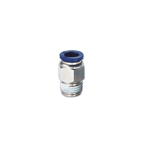 RACOR RECTO TUBO DE 8mm
